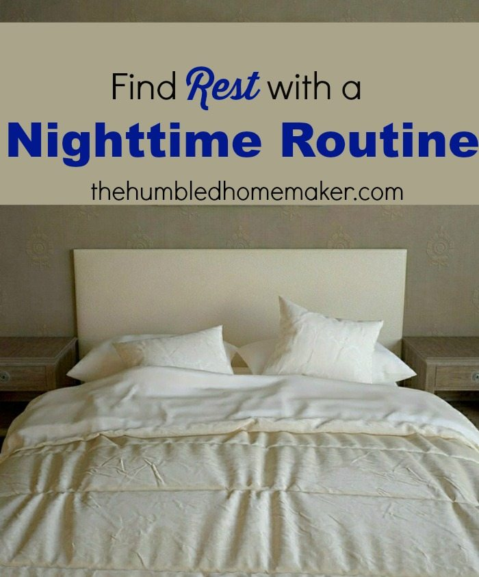 Find Rest with a Nighttime Routine