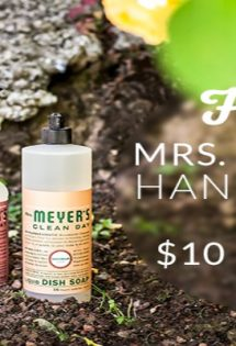 EXPIRED: Free Mrs. Meyer's Hand Soap, $10 Credit, & Free Shipping at ePantry.com!