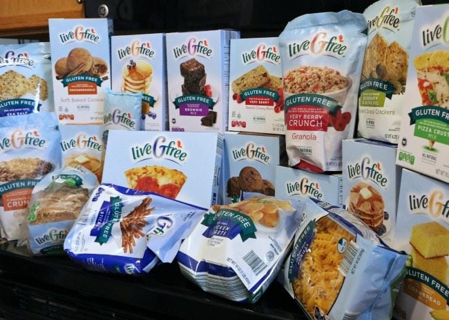 Gluten Free Snacks at Aldi