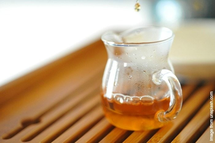 This hot tea is a great little remedy for soothing a bad cough and clearing out the sinuses!