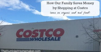 How Our Family Saves Money by Shopping at costco