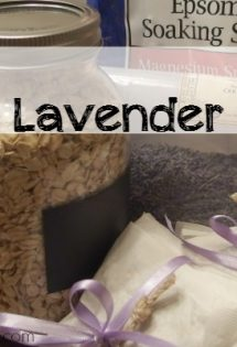 DIY Oatmeal Lavender Bath Teas