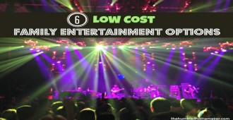 Inexpensive entertainment options for families
