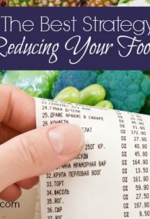 The Best Strategy For Reducing Your Food Budget