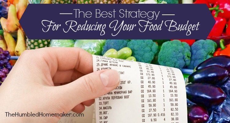 "Good advice! If you want to save money on groceries and reduce your food budget, this IS one ""best"" way!"