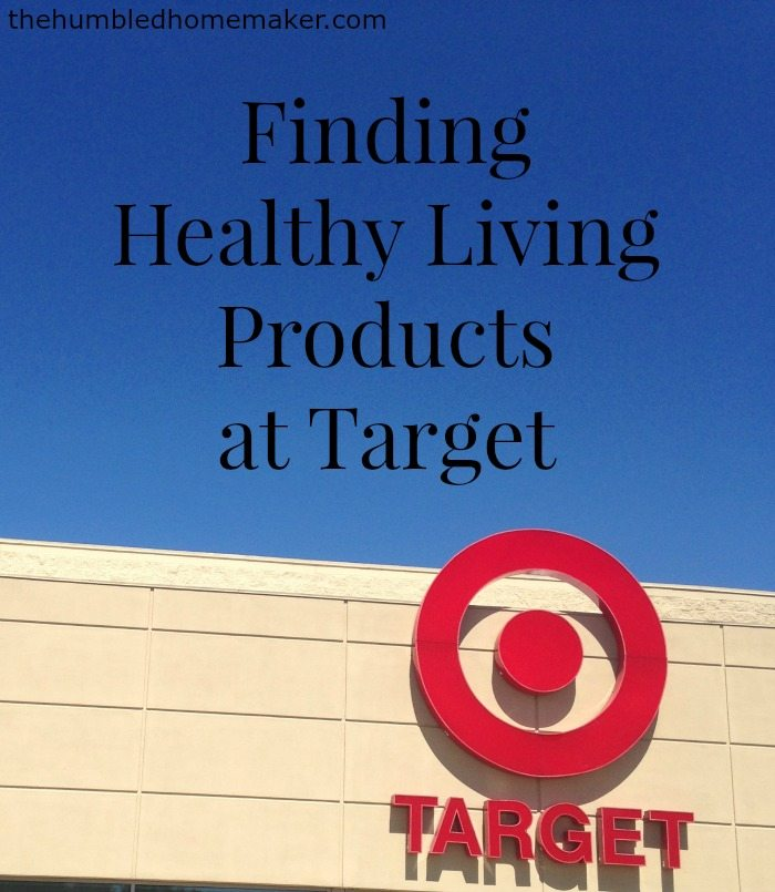 Target carries a plethora of healthy living products! They are easy to find once you know where to look!