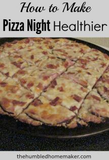 Family pizza nights are so much fun! And they don't have to be unhealthy, either! I love these ideas and recipes for hosting a healthy family pizza night!