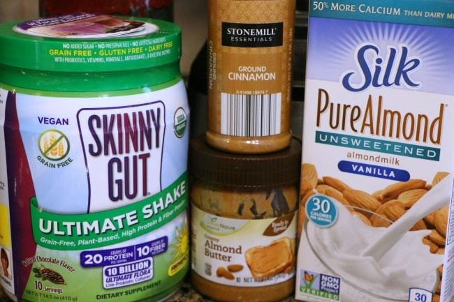 Skinny Gut Shake Ingredients