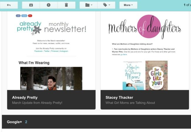 I love using Unroll.me to manage my email subscriptions and keep my inbox clutter free!