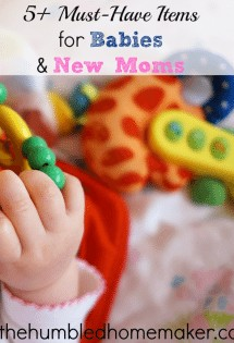 New baby on the way? You don't want to miss these 5 must-have items for babies and new moms!