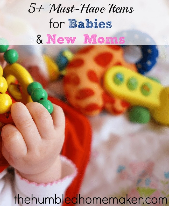 5 must-have items for babies and new moms