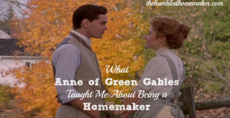 Anne of Green Gables homemaker