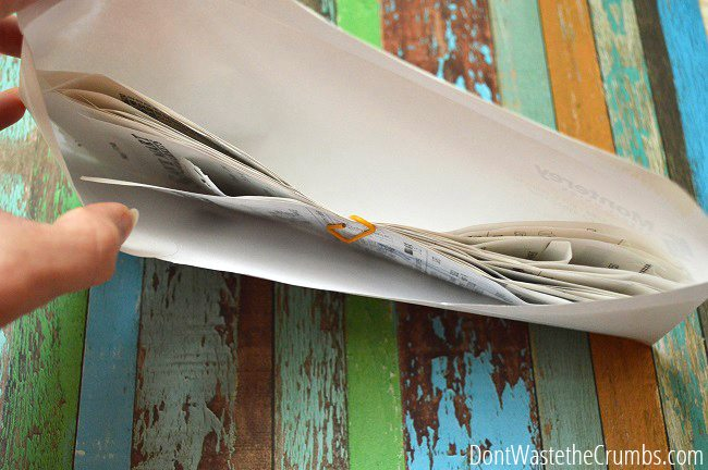 Paperclipped Receipts_THH
