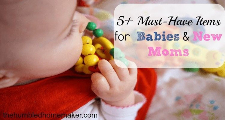 must-have items for babies and new moms
