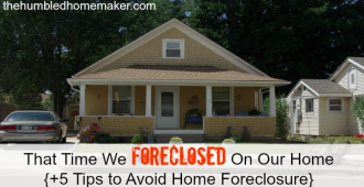 that time we foreclosed