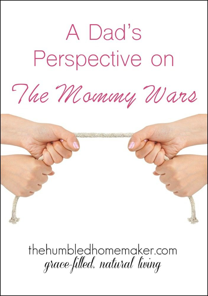 It's rare to hear a man's perspective on the Mommy Wars! He brings up some really great points!