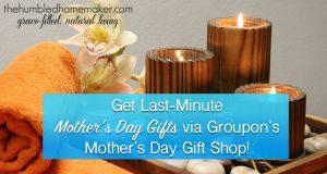Groupon Mother's Day horizontal