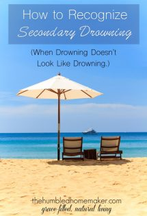 How to Recognize Secondary Drowning