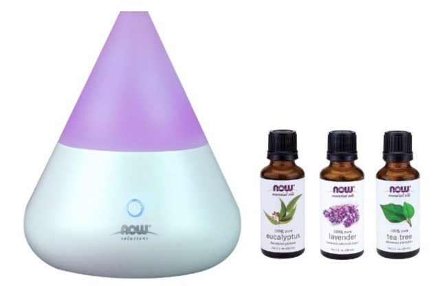 Now Oils Diffuser and 3 oils