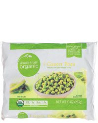 Simple Truth Frozen Peas at Kroger