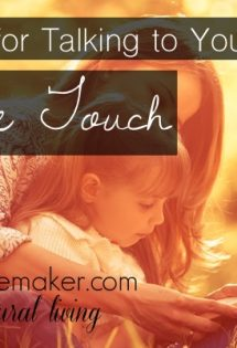 4 Resources for Talking to Children about Safe Touch