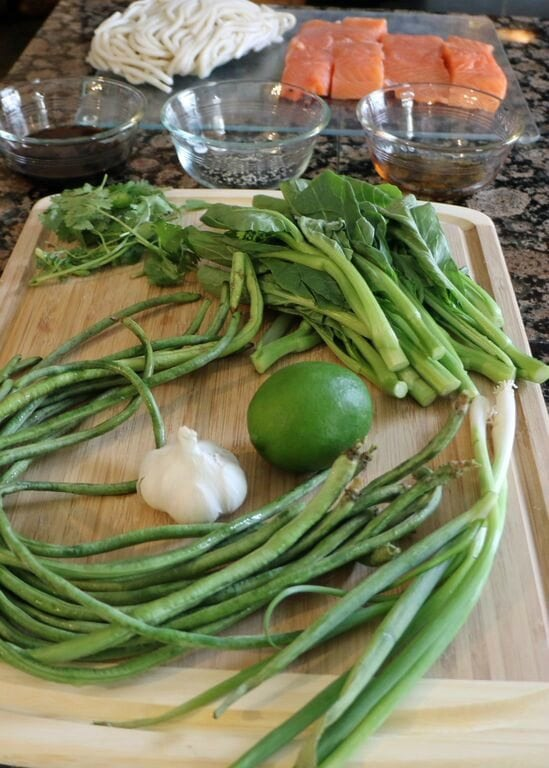 Blue Apron Meal 2 ingredients 2