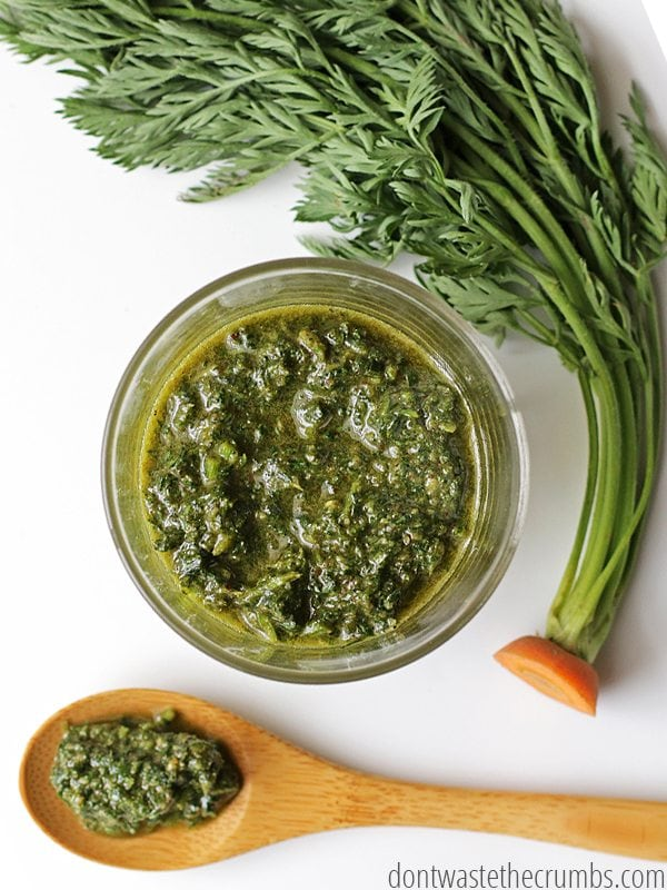 Carrot Top Pesto 7