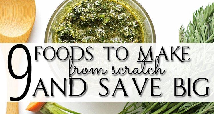 Foods Make Scratch - Small
