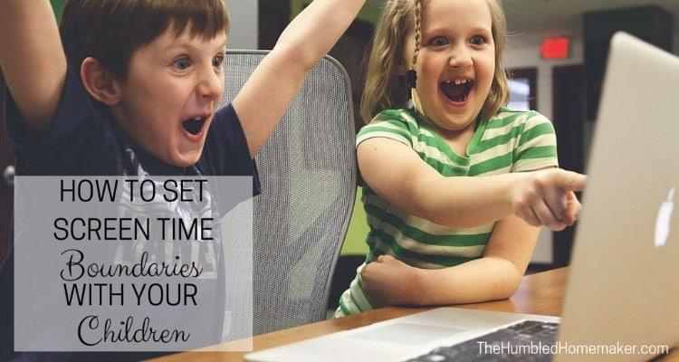 Setting screen time boundaries with your children can be tricky – but it's not impossible, thanks to a few helpful strategies!