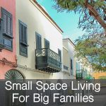 Wondering if small space living is possible for big families? Check out how a family of five lives in an 800-square-foot apartment!