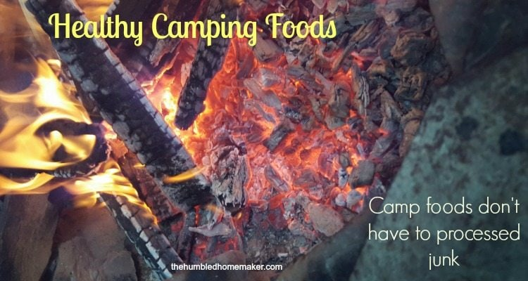 healthy camping foods