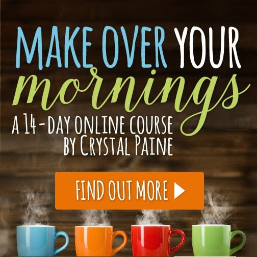 Make Over Your Mornings online course is a great last-minute digital gift!