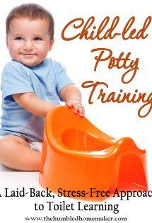 Child-Led Potty Training