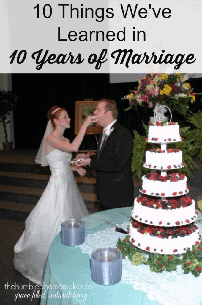 They are so open! Love these 10 things this couple has learned in 10 years of marriage! Eye opening!