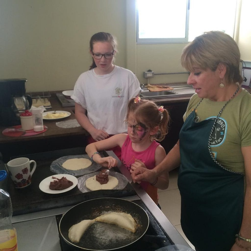 We had so much fun getting to know the teacher in our Costa Rica cooking class!