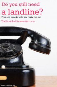 Do You Still Need a Landline?