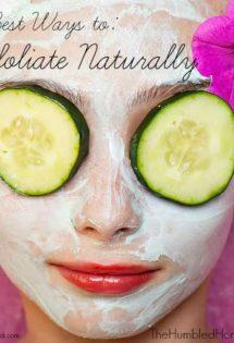 2 Best Ways To Exfoliate Naturally