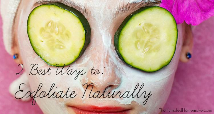 After years of dealing with sensitive skin - and acne - I started using 2 ways to exfoliate naturally and improve the texture and feeling of my skin.