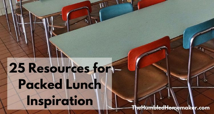 Once you settle in to a new school year, it gets tricky to think of creative packed lunch ideas. Here are 25 resources to help give you inspiration!