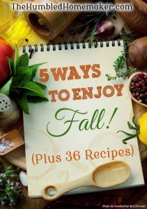 5 Ways to Enjoy Fall