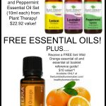 FREE Essential Oils! 1 Week Only! Check it out on The Humbled Homemaker! This deal is on fire!