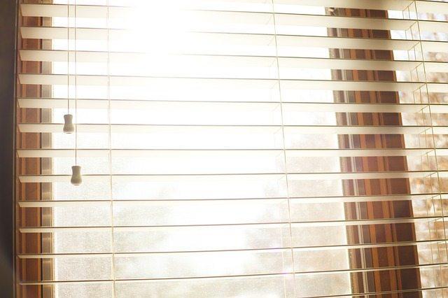 using super washing soda on blinds