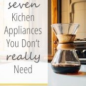 7 Kitchen Appliances You Don't Really Need Vertical