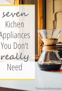 7 Kitchen Appliances You Don't Really Need