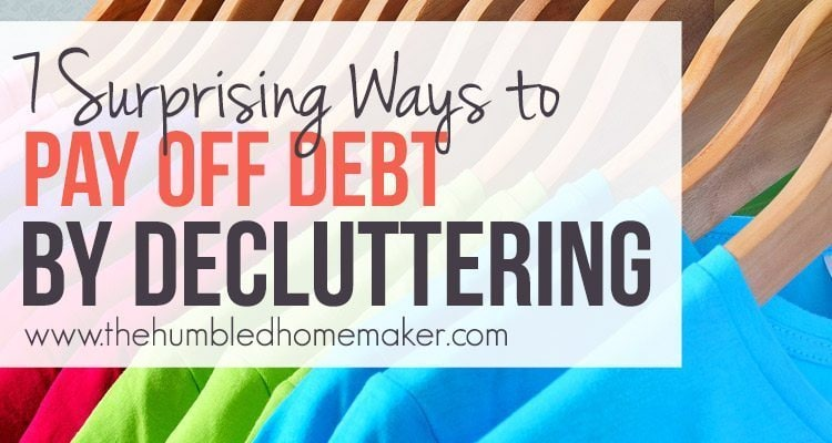 It might seem obvious to hang onto everything that might be useful when you're trying to save money. However, it turned out that my minimalist tendencies actually helped me find ways to pay off debt faster in some surprising ways. Here's how to pay off debt by decluttering.