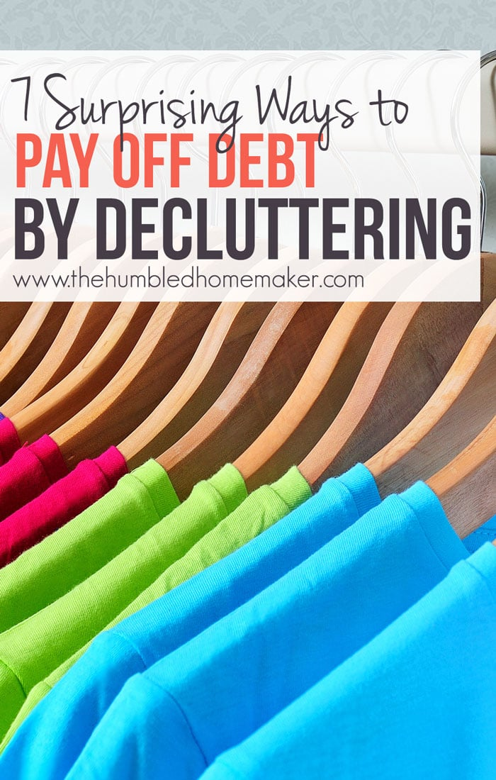 Want to be debt free? First go clutter-free! (Seriously!)