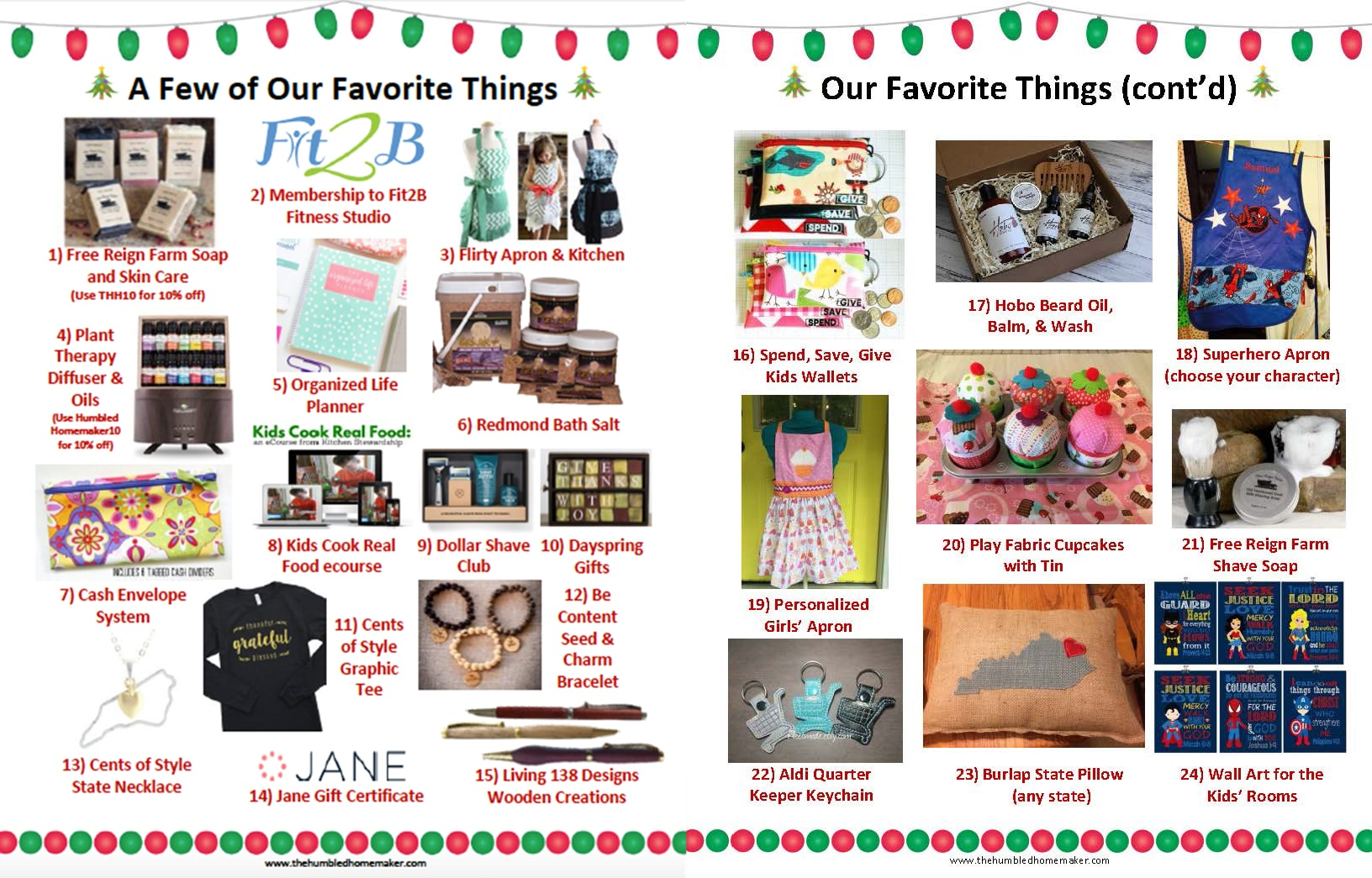 2017 Christmas Gift Guide for the Whole Family | Humbled Homemaker