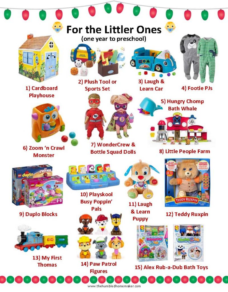 Best Christmas Gifts for the little ones