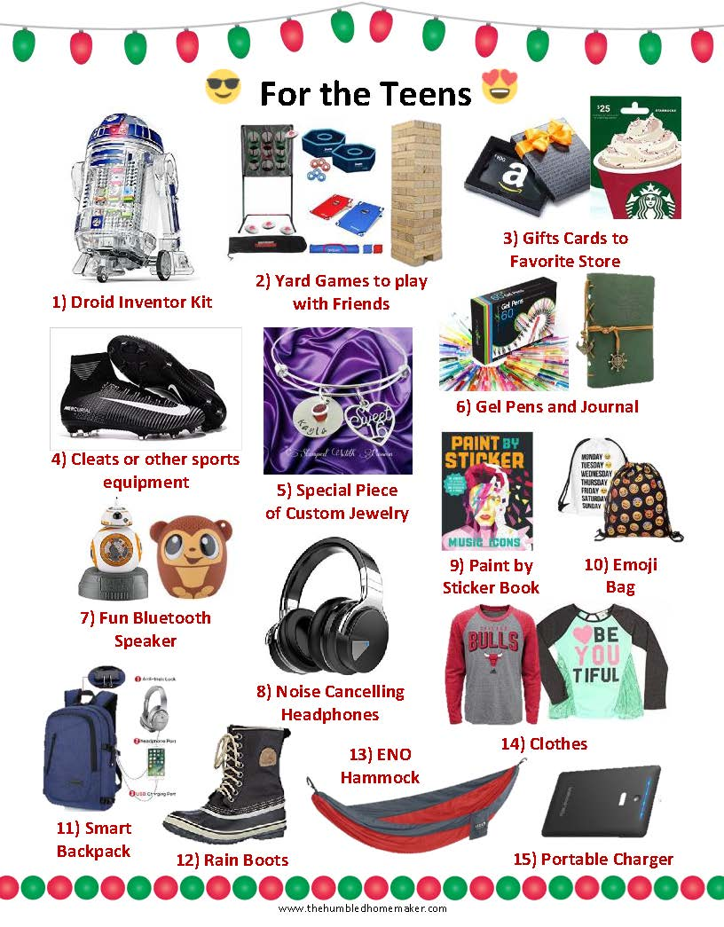 best christmas gifts for the teens