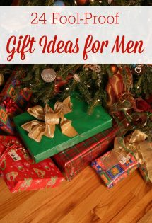 Men are usually the hardest people to buy for, or at least it seems that way to me. We hope these 24 fool-proof gift ideas for men will help take away decision fatigue and stress over what to get your man this year!